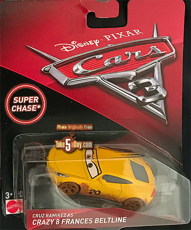 Mattel Disney Pixar Cars 3 Super Chase Crazy 8 Frances