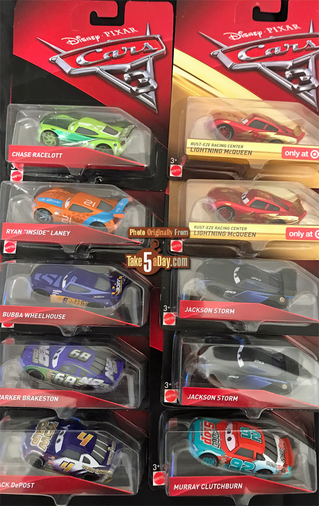 Mattel Disney Pixar Cars 3 Target Singles P Case Amp R Case