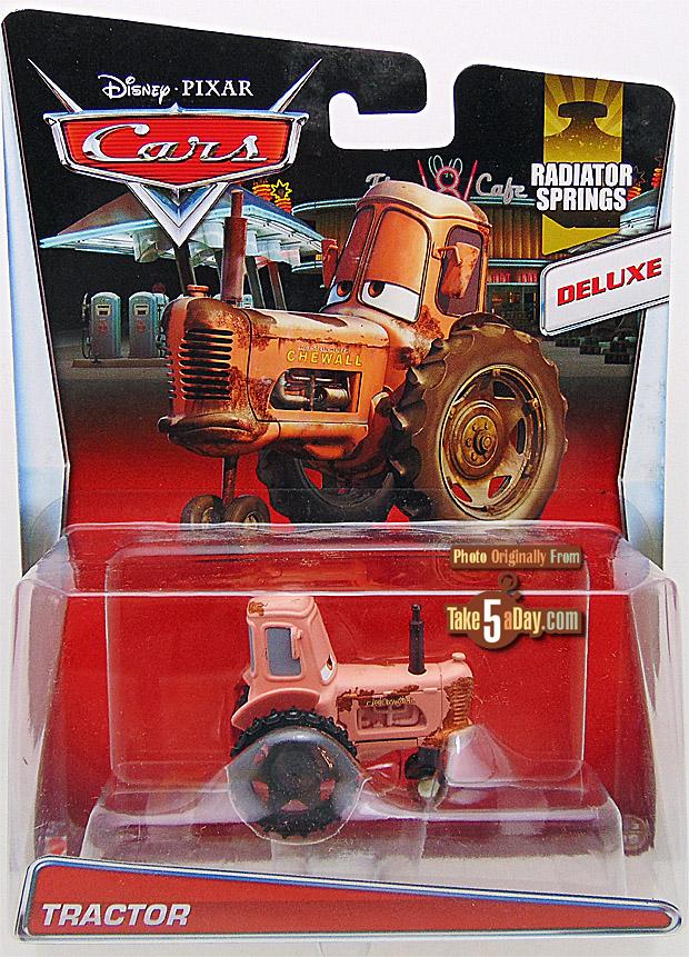 Mattel Disney Pixar Cars Radiator Springs Tractor A