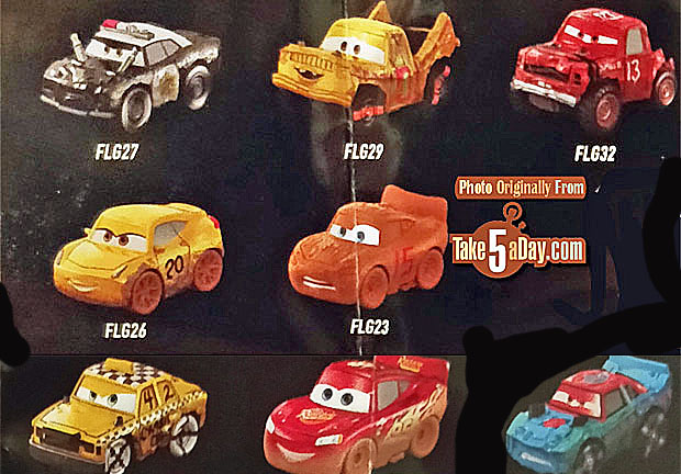 Disney Cars 3 Mini Racers Blind Bag Disney Pixar Cars 3