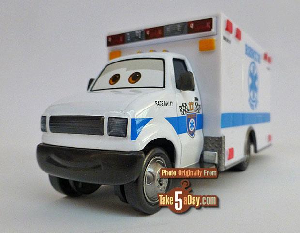 Disney Pixar Cars  Ambulance Morgan Martins