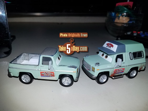 Cars 3 Characters Names >> Take Five a Day » Blog Archive Mattel Disney Pixar CARS 3: Mad Mel's Game On Customs - Take Five ...