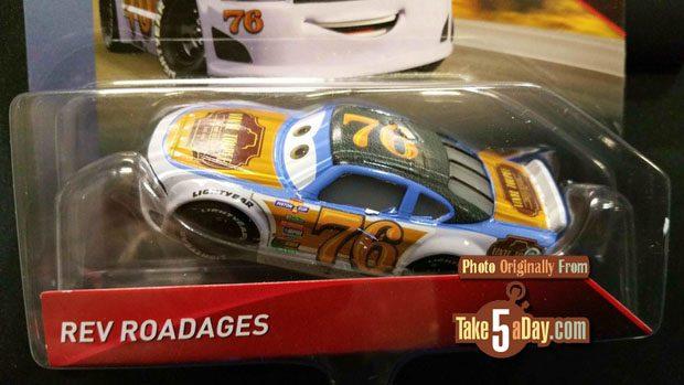 Mattel Disney Pixar Cars Clipstrip Case C Take Five A Day