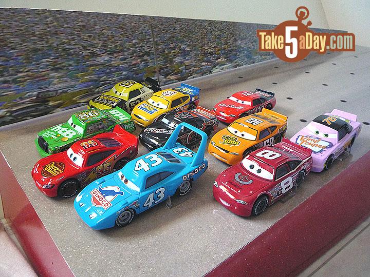 Take Five A Day Blog Archive Mattel Disney Pixar Cars Piston