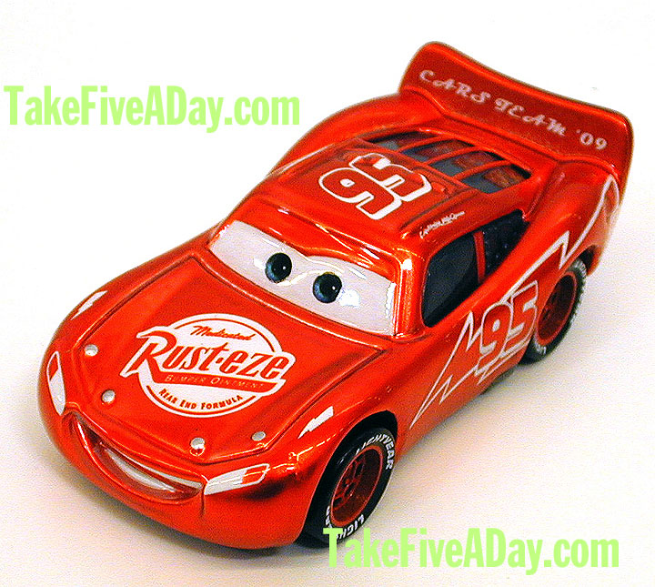 Take Five A Day Blog Archive Mattel Pixar Diecast Cars The