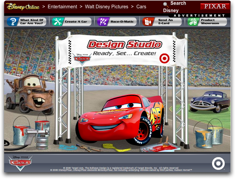 935baf94 Take Five a Day » Blog Archive » Disney Pixar CARS: A Walk Down CARS ...