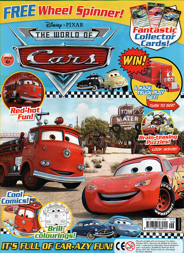 Take Five A Day Blog Archive Mattel Pixar Diecast Cars The Uk