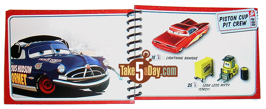 Take Five A Day 187 Blog Archive 187 Mattel Pixar Diecast Cars