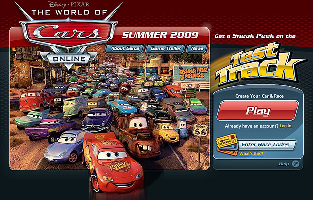 Take Five A Day Blog Archive Disney Pixar Cars Worldofcars Com