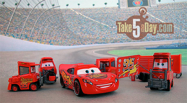 Take Five A Day 187 Blog Archive Mattel Disney Pixar Diecast