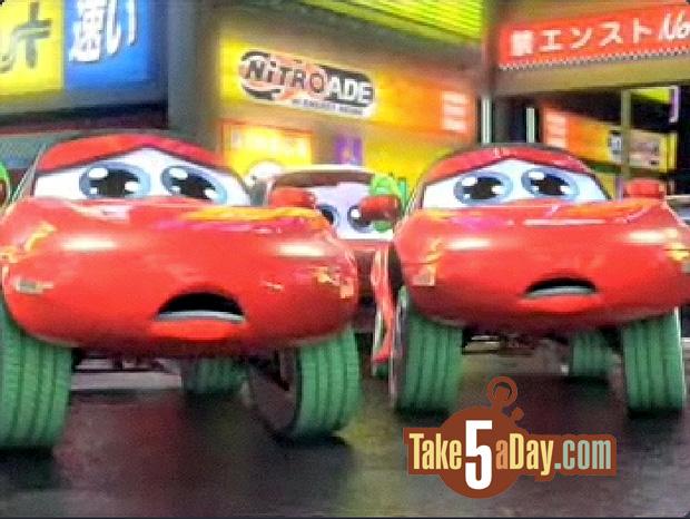 Mattel Disney Pixar Diecast CARS: Tokyo Mater CARS … Not