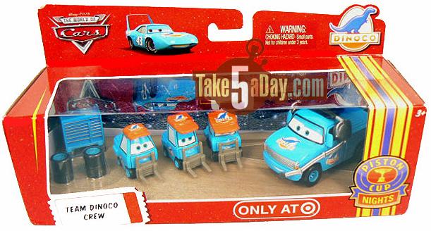 Disney Pixar Cars Dinoco Rust-Eze Pitties /& More *Displayed Only HTB