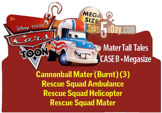 Car Toons Megasize CASE B