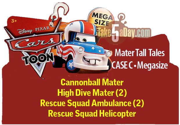 Car Toons Megasize CASE C