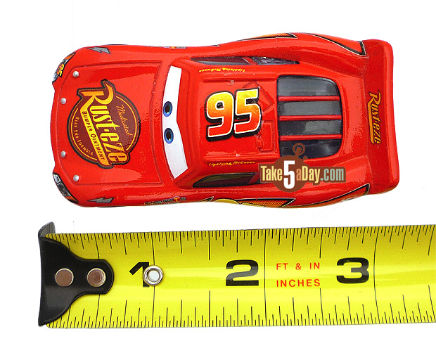 Take Five A Day Blog Archive Mattel Disney Pixar Diecast Cars The Scale Of It