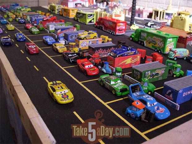Mattel Disney Pixar Diecast Cars Sweet Sweet Custom