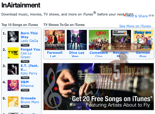 Take Five a Day » Blog Archive » Free iTunes Track From Southwest
