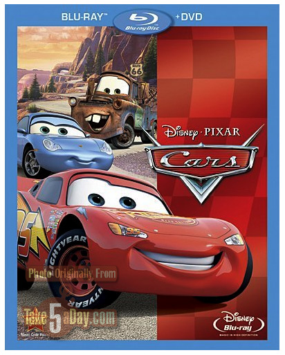 Take Five A Day Blog Archive Disney Pixar Cars 2 Buy Redeem