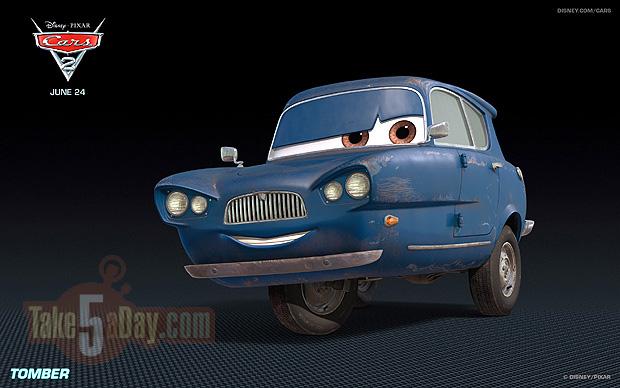 Take Five A Day Blog Archive Disney Pixar Cars 2 New Trailer
