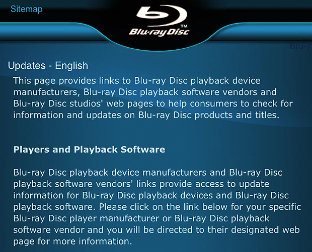 Take Five a Day » Blog Archive » Blu Ray Player Firmware