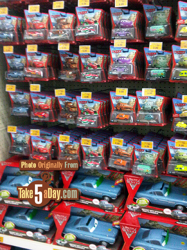 Take Five A Day Blog Archive Mattel Disney Pixar Cars 2 Diecast Buying Strategies
