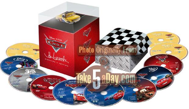 Cars   Dvd Set