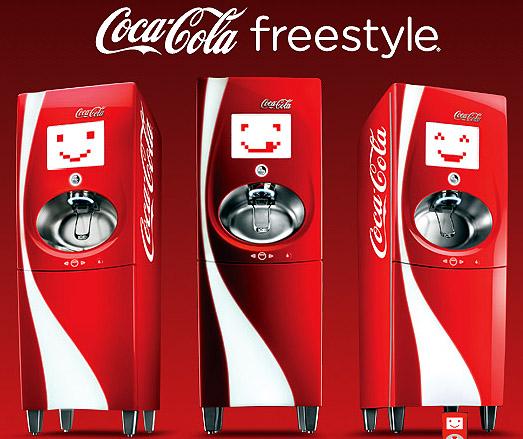 Take Five a Day » Blog Archive » Coca Cola Freestyle 100 ...