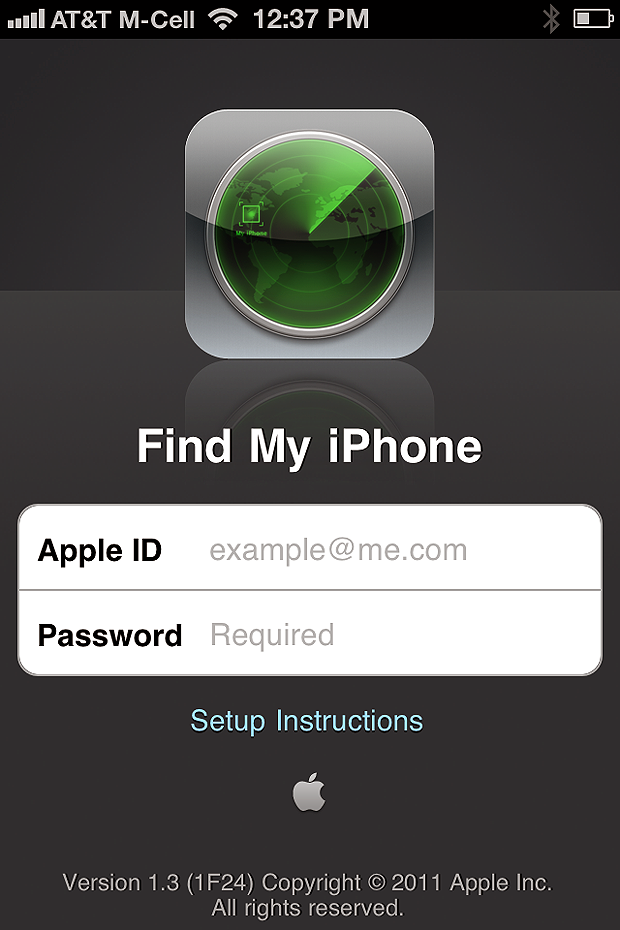 how to use find my iphone how to activate quot find my iphone quot so it s ready to use 1366