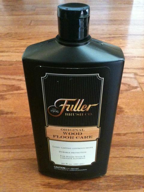 Fuller Brush floor care