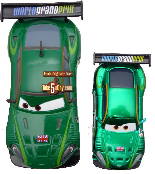 Disney Store CARS 2 Diecast: World Grand Prix Racers
