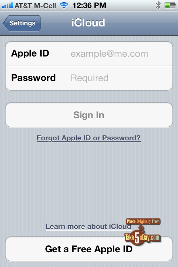 find my iphone sign in how to activate quot find my iphone quot so it s ready to use 16934