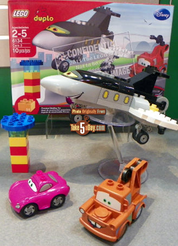 Take Five A Day Blog Archive Disney Pixar Cars 2 Toy Fair 2012 Cute Lego Duplo Cars 2 Sets Coming