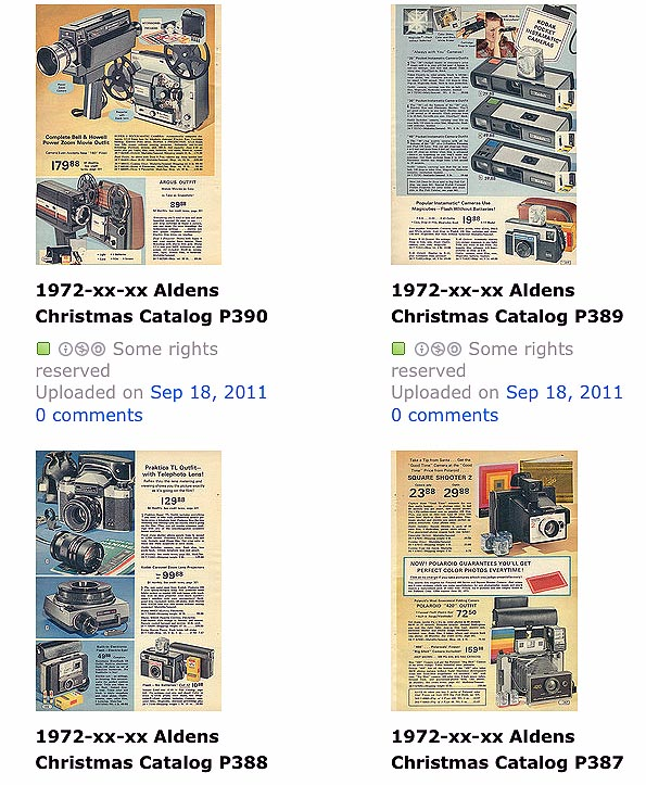 Take Five a Day » Blog Archive » Alden's 1972 Wish Book