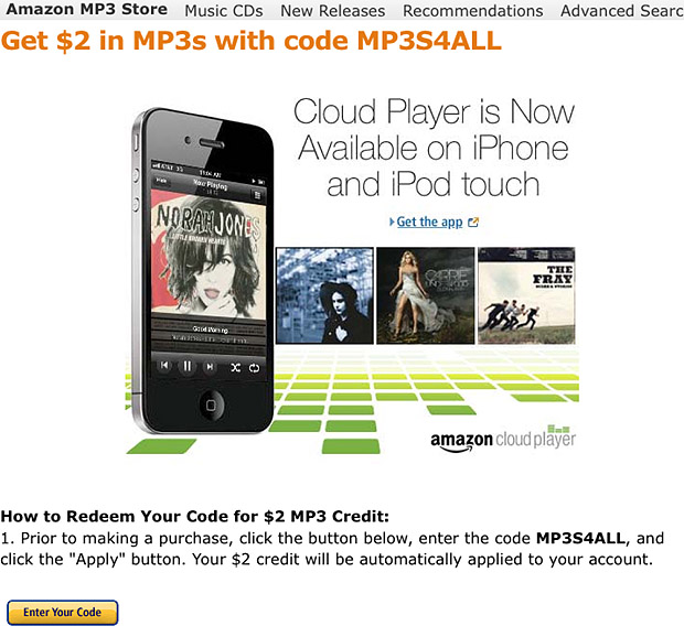 Take Five a Day » Blog Archive » Amazon $2 Off MP3 Music Coupon