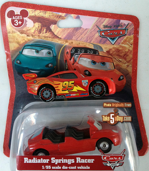 Cars 1 And 2 Toys : Take five a day archive disney pixar cars