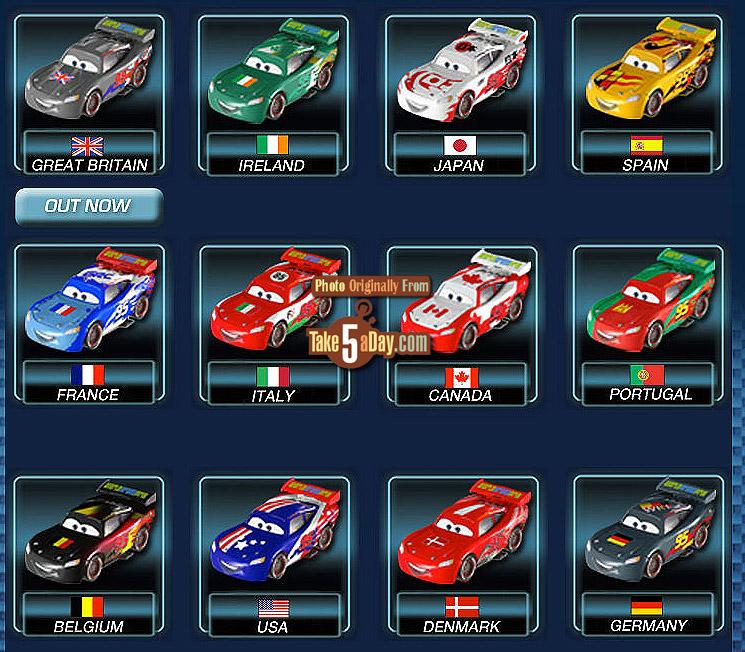 Disney Pixar Cars  Final Race