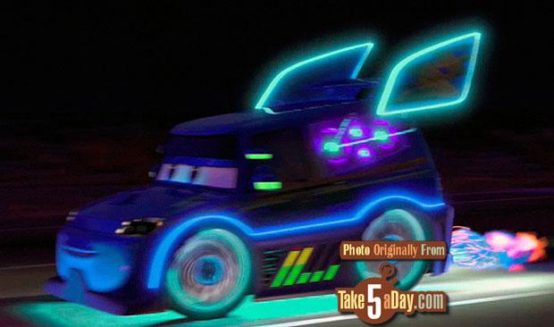 Take Five a Day Blog Archive Mattel Disney Pixar CARS