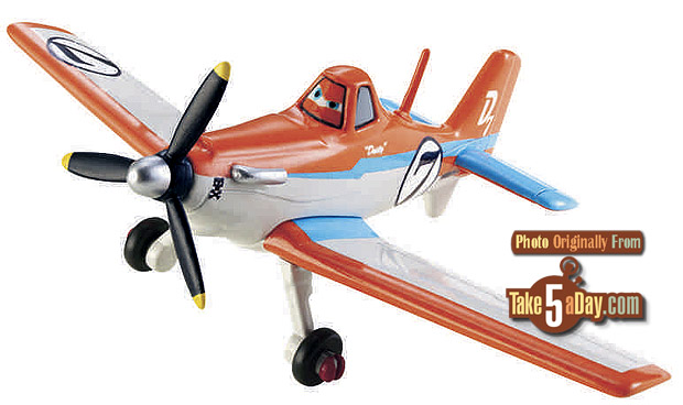 Dusty plane