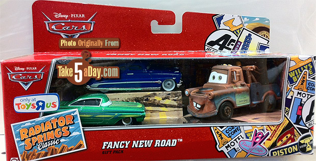 Take Five A Day Blog Archive Mattel Disney Pixar Cars Diecast