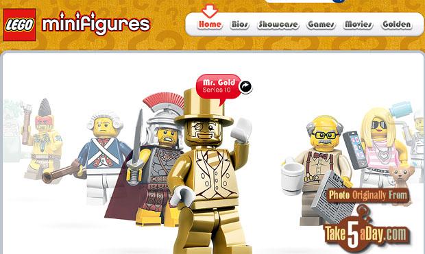 Take Five A Day 187 Blog Archive 187 Lego Series 10 Mini