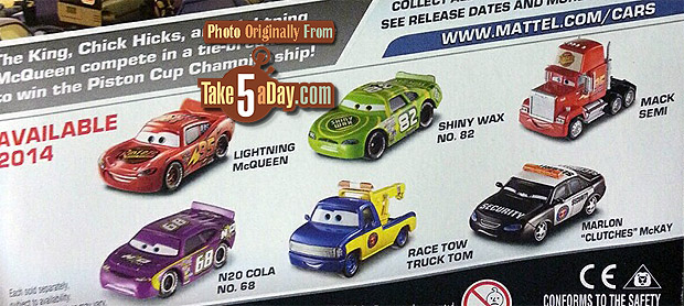 Piston Cup cardback