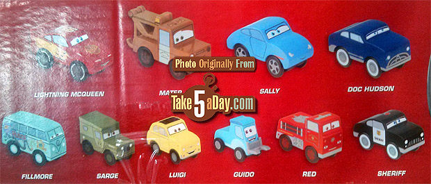 Take Five A Day Blog Archive Disney Pixar Cars The Costco