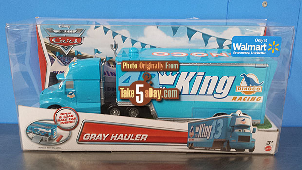 Walmart Truck Wally Hauler Were Available As Only Exclusives They Have Returned To The Themes 2014 Design Motif Joined By Dinoco