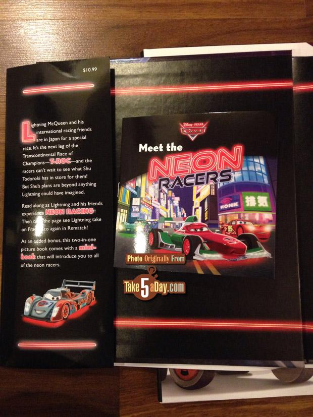 neon racer book