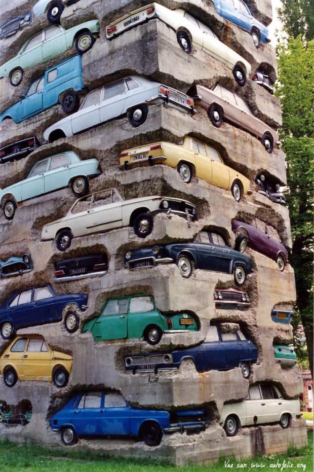 ARMAN - Large Scale - Long Term Parking