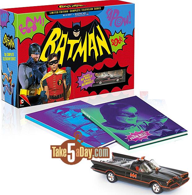 Take Five a Day » Blog Archive » Batman TV Series Blu Ray
