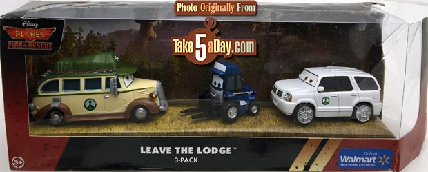 leave the lodge