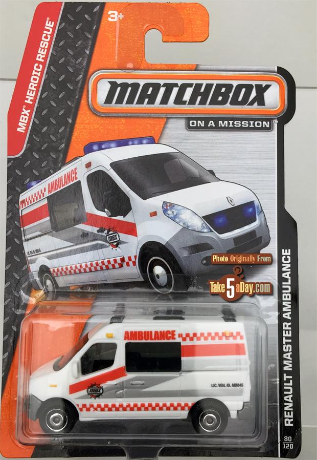 """Take Five a Day » Blog Archive » Matchbox """"Alfredo"""" Ambulance"""
