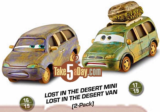 lost in the desert mini van