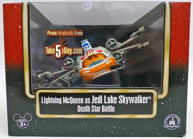 Lightning-McQueen-as-Jedi-Luke-Skywalker-Death-Star-Battle-package-front